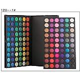 120 Color Pro 5 Kind Fashion Eyeshadow Palette Shimmer Eye Shadow Makeup Set (120-01)