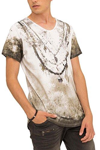 trueprodigy Casual Hombre Marca Camiseta Estampado Ropa Retro Vintage Rock Vestir Moda...