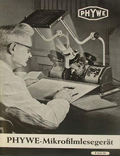 Heft PHYWE-Mikrofilmlesegerät (Modell II)