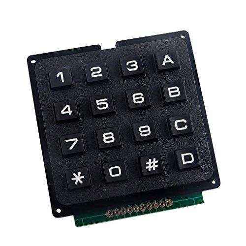 Gazechimp 4 x 4 Matrix Array 16 Keys Switch Keypad Keyboard Module for Arduino