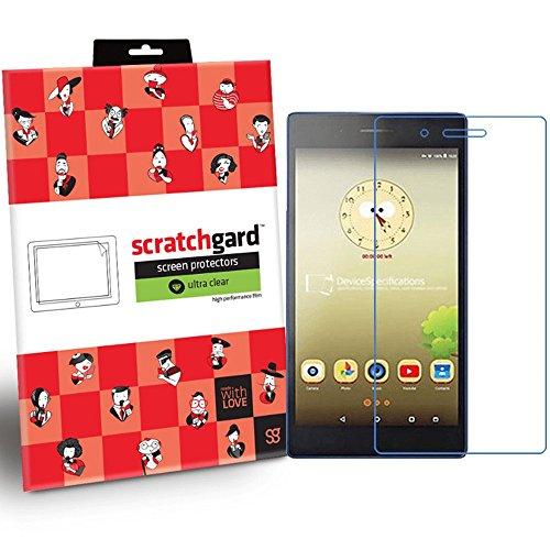 Scratchgard Original Anti-Bubble & Anti-Fingerprint High Definition (HD) Clear Premium PET Screen Protector for Lenovo Tab 7
