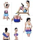 Vinteky Cinturón reductor de cintura, Quemador de grasa abdominal, Cinturón tonificador,/reducto puntualAbdominal de Sudoración con Puntos Sobresalientes