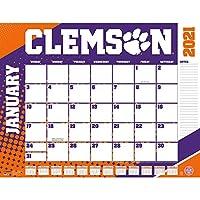 TURNER Sports クレムソンタイガース 2021 22X17 デスクカレンダー (21998061476)