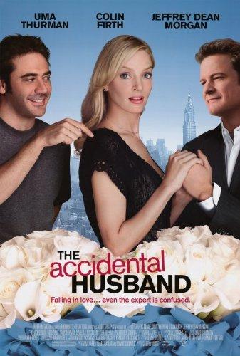 The Accidental Husband Poster 27x40 Uma Thurman Colin Firth Jeffrey Dean Morgan