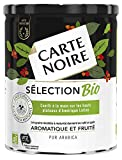Carte Noire Café Sélection Bio, Café Moulu Biologique torréfié, Pur Arabica, Boîte 250g