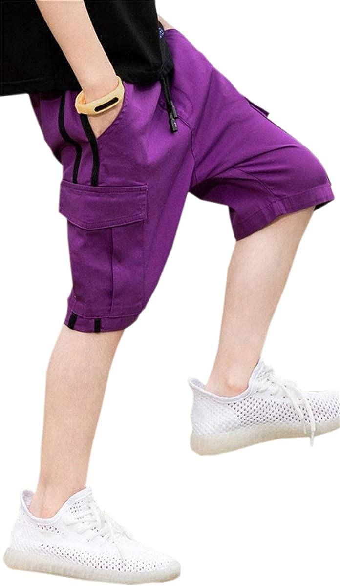 MIOUBEILA Boy's Cargo Shorts