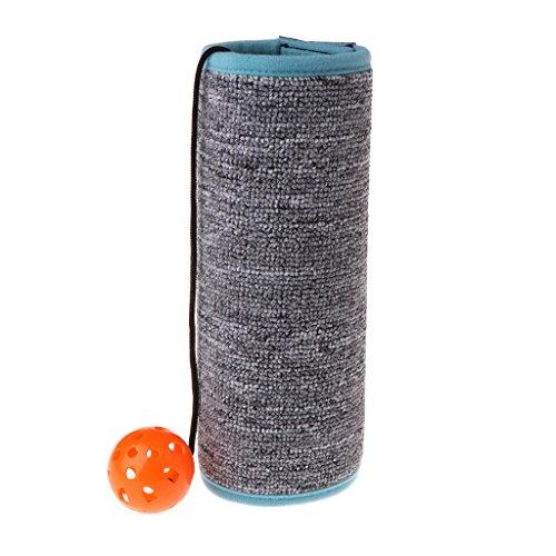 MIKI-Z Cat Mat Ring Ball Scratch Board Scratcher Blanket Furniture Protector Kitten Toy