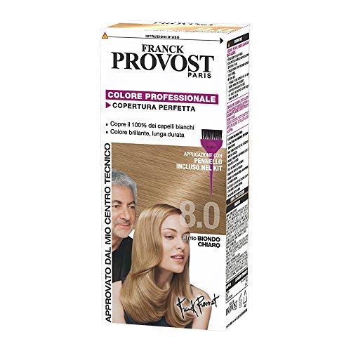 Franck Provost Colorazione Permanente Capelli, 8.0 Biondo Chiaro