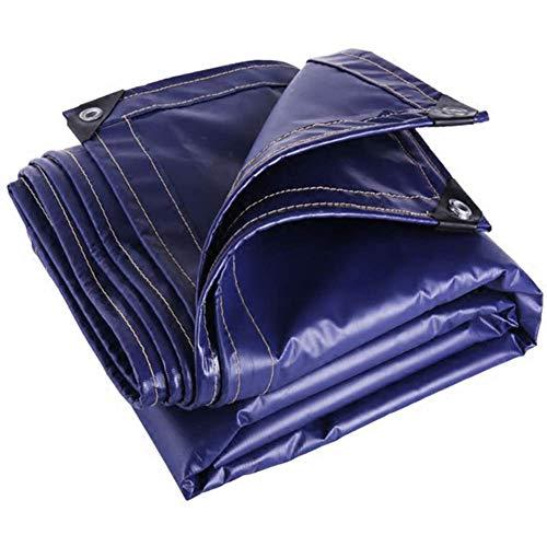 MSF Bâches Toile de bâche résistante d'épaisseur de PVC 100% de couverture de camping en plein air de protection imperméable et UV, toile de bâche de piscine de voiture de protection solaire de pare-s