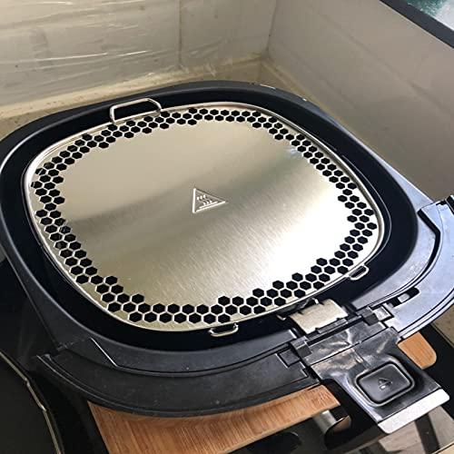 Repuestos de cocina Para Philips Air Fryer Cover Fried Basket Cover para Philips HD9622 9643 9627 9641/21 9642 9531 9228 9238 9640 9642 Pieza de freidora de aire