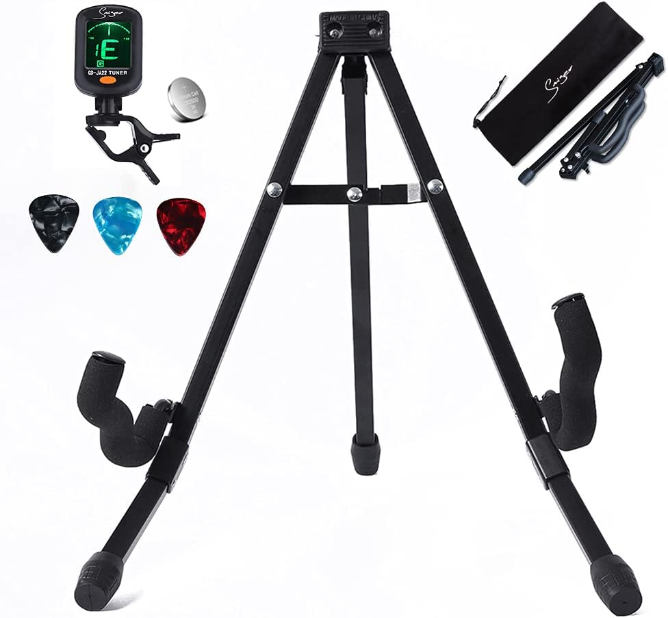 Smiger Flexible Cheap bargain Fresno Mall adjustment Guitar Stand for Bass acoustic guitar