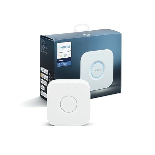 Philips Hue(ヒュー)ブリッジ スマートデバイス 【Amazon Echo、Google Home、Apple HomeKit、LINE対応】
