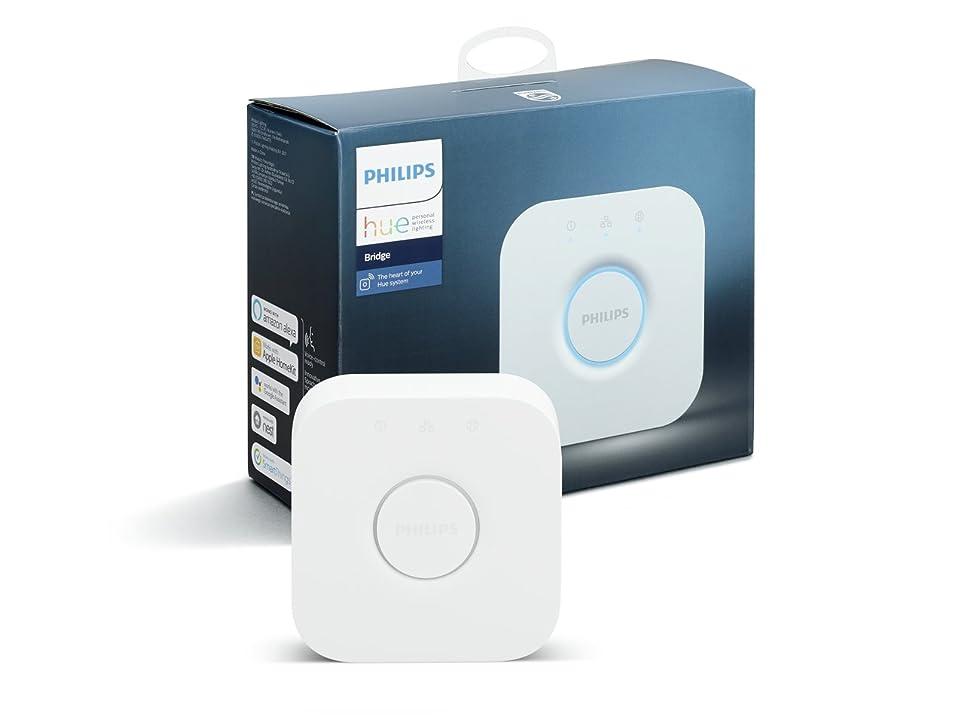 アクチュエータ繁雑再発するPhilips Hue(ヒュー)ブリッジ スマートデバイス 【Amazon Echo、Google Home、Apple HomeKit、LINE対応】