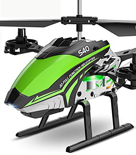 Syma S40 Remote Control Helicopter RC Helicopter with 4.0-Channels 2.4GHz Gyro Helicopter Toy with Altitude Hold High Low Speed Mode Indoor Helicopters Ideal for Kids Boys Girls