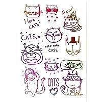 11 * 16センチラブリー猫透明クリアシリコーンスタンプ/シール用DIYスクラップブッキング/フォトアルバム装飾クリアスタンプシート
