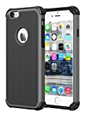 iPhone 6S Case, iPhone 6 Case, CHTech Double Durable Shockproof Case for Apple iPhone 6/6S 4.7 Inch (Grey)