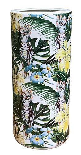marymarygardens Tropical Leaf Design keramische paraplu Stick Stand of Vaas