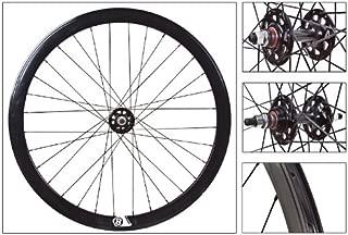 ORIGIN8 700C Fixie Wheelset (ISO Diameter 622), Black NMSW