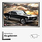 Kunstdruck Poster - Ford Mustang Shelby GT 350 66 V8 Muscle