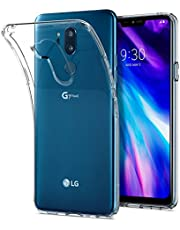 Spigen Liquid Crystal Compatibel met LG G7 ThinQ / G7 Plus ThinQ hoesje, Transparant TPU siliconen gsm-hoesje Krasbestendig beschermhoes Flex cover case Crystal Clear