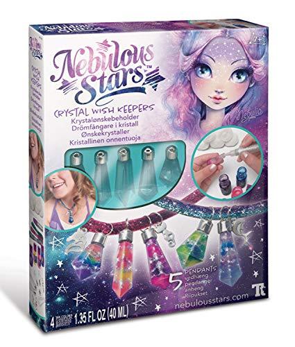 Nebulous Stars NS11107 Kreativset Wunschhüter, zur Erstellung einer Kette oder eines Schlüsselanhängers, für Mädchen ab 7 Jahre, als Geschenkidee