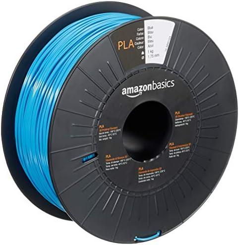 Amazon Basics PLA 3D Printer Filament 1 75mm Blue 1 kg Spool product image