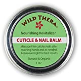 Wild Thera Herbal Cuticle Balm. Natural Cuticle Oil and Cuticle Moisturizer for Cracked an...