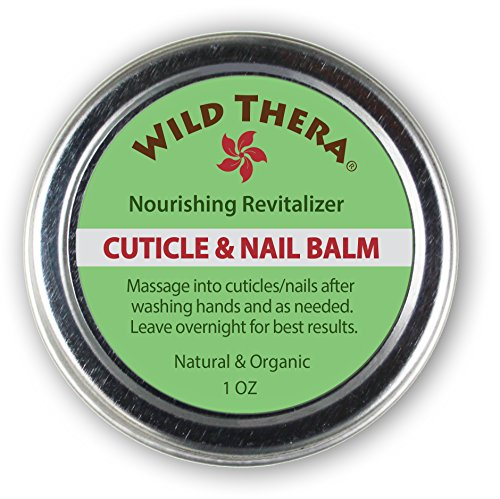 Wild Thera Herbal Cuticle Balm. Best Natural Cuticle Oil. Cuticle Moisturizer Heals Cracked and Rigid Cuticles. Cuticle Cream with Vitamin E, Olive & Coconut Oil, Cocoa Butter and Essential Oils.