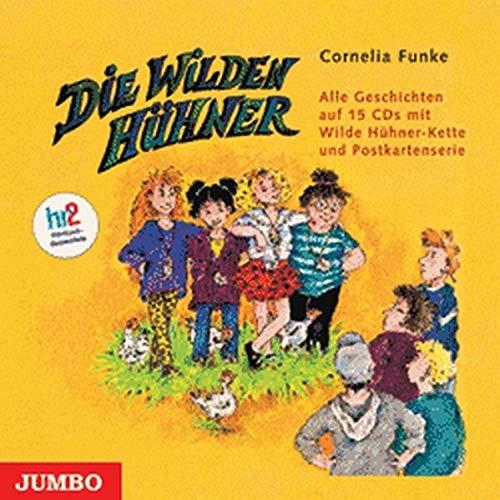 Die Wilden Hühner. 15 CDs: Alle Folgen im Schuber