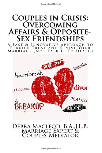 Couples in Crisis: Overcoming Affairs & Opposite-Sex Friendships: A Fast & Innovative Approach to Rebuild Trust & Revive Your Marriage (Not Talk It To Death) (Marriage SOS) (Volume 4)