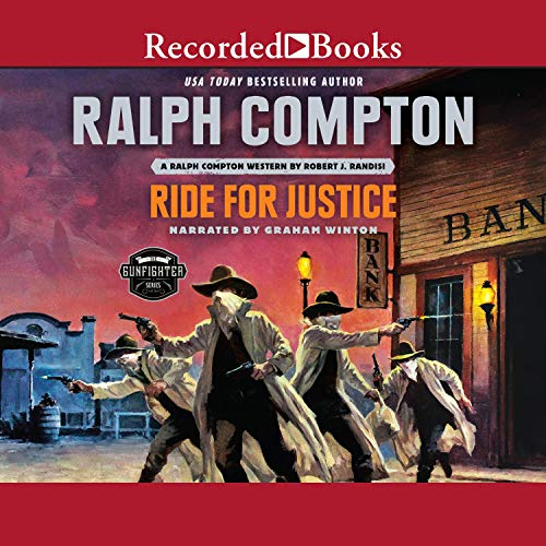 Ralph Compton Ride for Justice  By  cover art