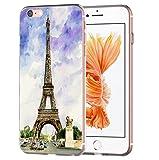 blitzversand Handyhülle Boutique Paris kompatibel für Samsung Galaxy S5 Mini Print Art Eifelturm Schutz Hülle Case Bumper transparent M13