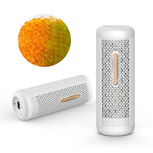 Deerma recycelbar Luftentfeuchter,mini raumentfeuchter gegen Feuchtigkeit mit 350g Granulat, 360° Entfeuchtung für Schrank, Bücherregal, Schlafzimmer, Büro, Schuhschrank