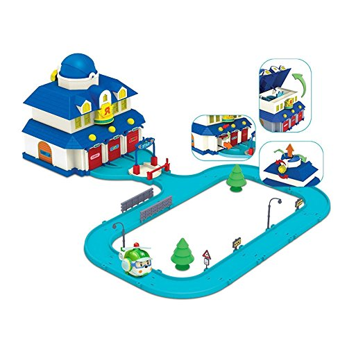 Robocar Poli Rescue Center Play Set series Korean Animation Academy Unisex