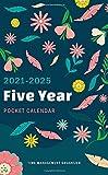 Pocket Calendar 2021-2025: 60 Month Yearly Planner, 2021-2025 Five Year Pocket Planner, 5 Year Planning Calendar, Personal Time Management Schedule ... Logbook (2021-2025 Calendar Pocket Planner)