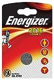 Energizer 7638900083002 - Pila de Botón CR2016 Lithium 3V, Litio