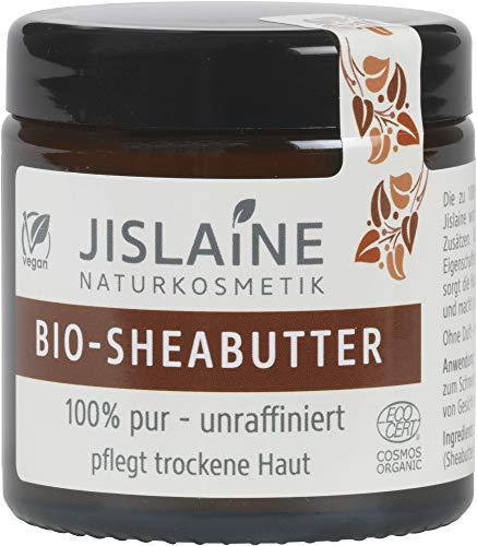 Jislaine Naturkosmetik Bio Bio-Sheabutter - unraffiniert, 100g (6 x 100 gr)
