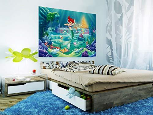 AG DESIGN Ariel Disney Prinses Fotobehang voor Kinderkamer