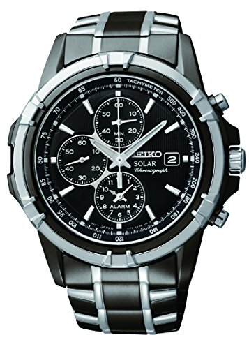 Seiko Men's SSC143 Stainless Steel Solar...