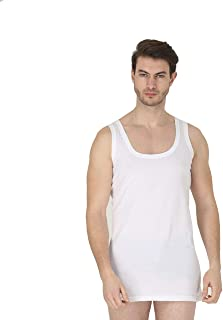 Pack of 3 Ultra Soft Mens Vest 100% Cotton Singlet Vests Underwear Mens Vest Undershirt