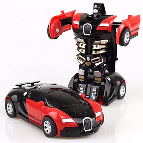 SUPER TOY 2in1 Transformation Robot Car Toy with Sound for Kids ( Multi Colour)