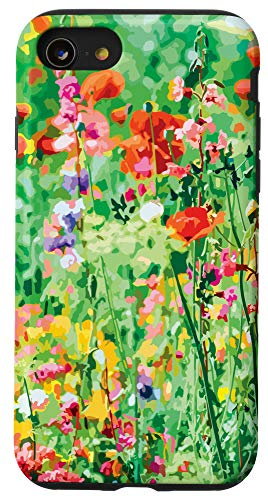 iPhone SE (2020) / 7 / 8 Colorful Wildflowers Cool Nature Case