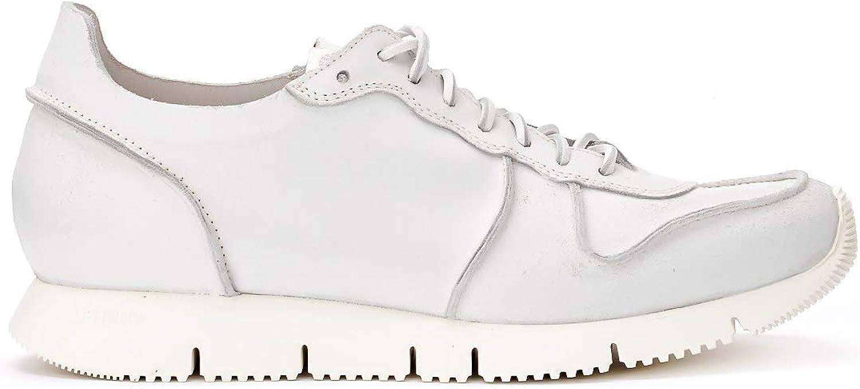 Buttero Buttero Buttero Sneaker Carrera In Leder Weiss, Größe Uk: B07Q1PJD91  7359d2