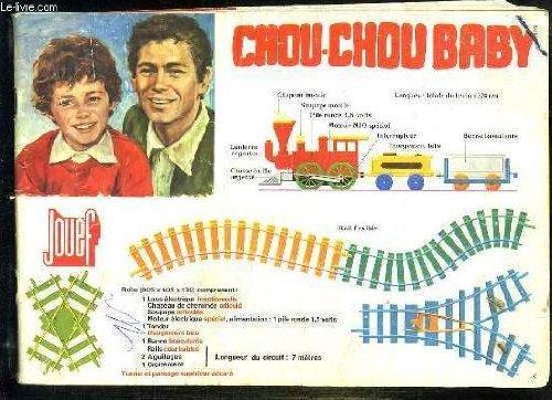 catalogue Jouef 1971-72 vendu sans la couverture CATALOGUE DE JOUET. CHOU CHOU BABY. TRAINS MECANIQUES ET TRAINS ELECTRIQUES.