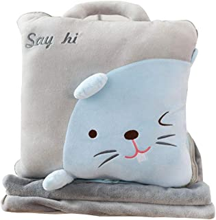 Replacement Batteries Air Condition Blanket Pillow Travel Office Nap Blanket 3 In 1 Fruit Air Conditioner Quilt Pillow