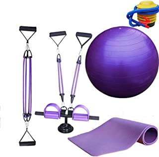 JIUYUE Chest Exerciser for Men Muscle Training Exerciser - System with Resistance Bands Strength Trainer Chest Expander Ch...