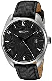 Nixon Women's A473000 Bullet Black Watch With Leather Band