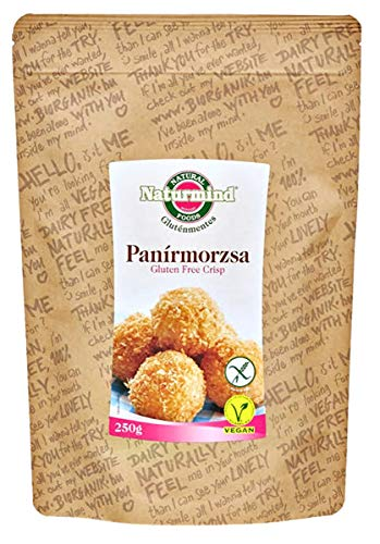Naturmind Glutenfrei Semmelbrösel-Knusprig 250g | Panierteig Vegan | Paniermehl Ersatz | Glutenfrei Knusprig