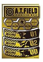 A.T.FIELD ステッカー シートタイプ 横長 ATF029G 鏡面 ゴールド エヴァンゲリオン