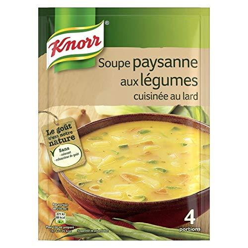 KNORR - Soupe Paysanne Aux Légumes Déshydratée 97G - Lot De 4
